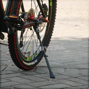 "Bicycle Parking Rack Kickstand Heavy Duty Adjustable Mountain Bike Bicycle Cycle Side Rear Kick Stand For 16"" 20"" 24"", 26"", 28"""