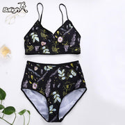 Bikini 2018 Swimwear Women High Waist Bandage Brazilian Bikinis Set Push Up Swimsuit Beach For Women Bathing Suits