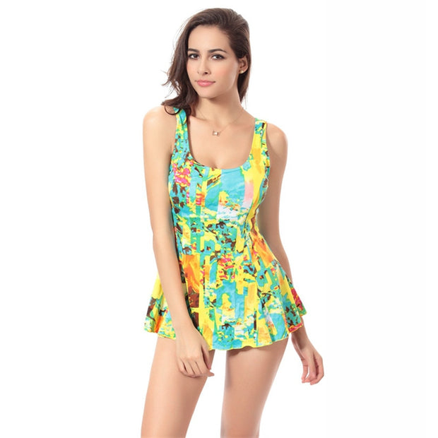 Bikini Swimwear Vest One-piece Suits Swimsuit Spring Summer Women's Swimwear Dress Backles Waisted Swim Suit Straps 3 Color XXXL