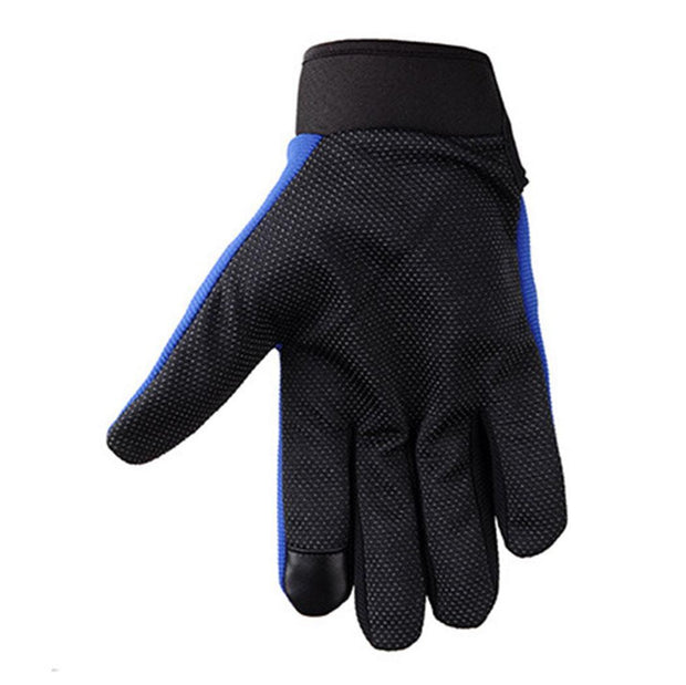 Black Racing Breathable Unisex Blue Red Finger Casual Riding Fashion Finger Full Locomotive Gloves Motorcycle