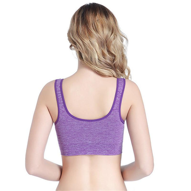 Brand New Sports Bras Wireless Push Up Racerback Shockproof Breathable Comfortable 3D Sports Bra Women Underwear Female Tops