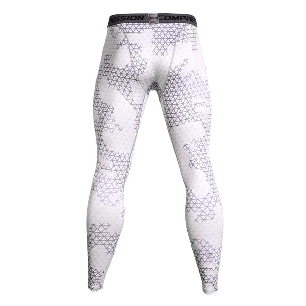 Brand Running Tights Men Breathable Quick Dry Compression Male Trousers Gym Fitness Sport Leggings Camouflage Jogging Long Pants