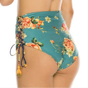 Brazilian Bikini 2019 Mujer Sexy Floral High Waist Bikini Set Girls Swim Suit Biquinis Swimwear Women Stroje K Pielowe Damskie