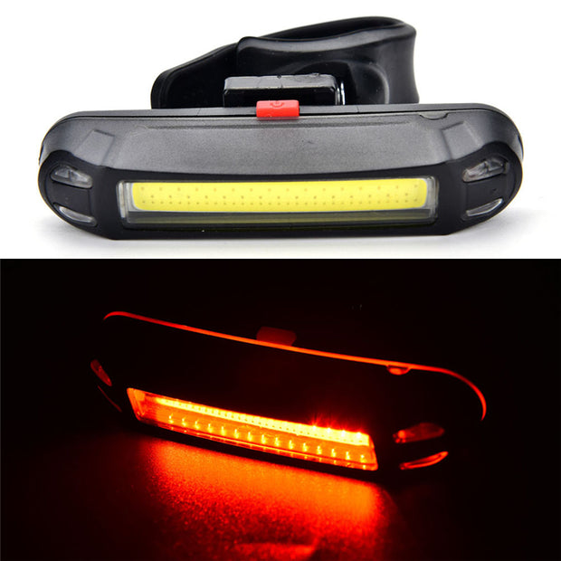 Bycicle Light Rechargeable LED Waterproof USB Cycling Bike Tail Light Taillight MTB Safety Warning Bicycle Rear Seat Light Lamp