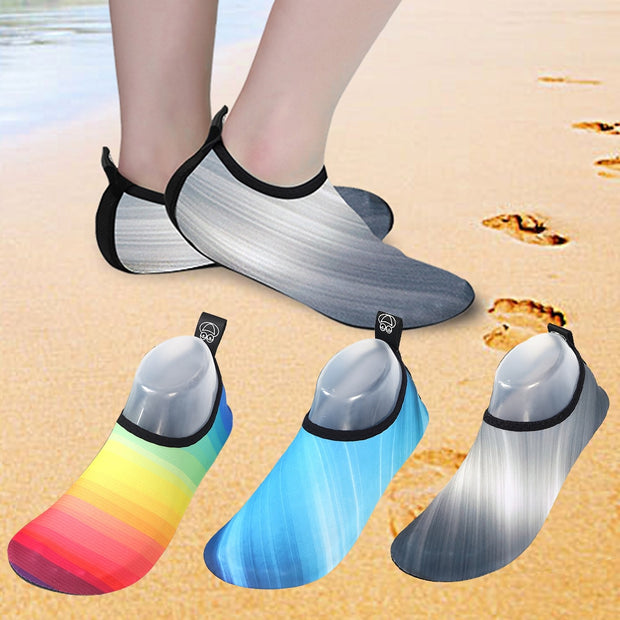 CALOFE Swimming Water Shoes Men And Women Beach Camping Shoes Adult Unisex Flat Soft Walking Lover Yoga Snorkeling Wading Shoes