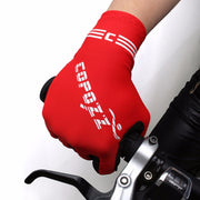 COPOZZ Half Finger GEL Cycling Gloves Mountain Mtb Anti Slip Bicycle Bike Gloves For Riding Guantes Ciclismo Men Women Sport