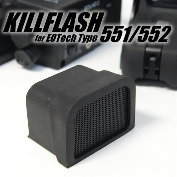 CQC Tactical Airsoft Scope Killflash Protector Cover For Red Dot Sight 551 552 553 518 558 512 552 XPS2 EXPS2 XPS3 EXPS3