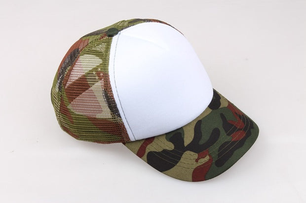 Camouflage Parent-child Cap Children Net Cap Boys And Girls Caps Baby Casual Sun Hat Baseball Cap Optional Color