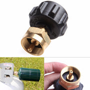 Camping Gas Stove Adapter 1 LB Gas Propane QCC1 Regulator Valve Propane Refill Adapter Outdoor BBQ