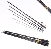 Carbon Fiber Stream Fishing Rod Telescopic Fishing Pole Ultralight Spining Rods Hand Pole Carp Fishing Rod 2.7m 3.6m 4.5m 5.4m