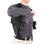 Carry Tactical Under Arm Shoulder Double Pouch Outdoor Hunting Portable Holster Draw Pistol Holster