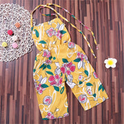 Casual Summer Chiffon Baby Overall Girls Toddler Print Swimsuit 2018 Baby Girls Sleeveless Bathing Suit One-piece Swim Wear