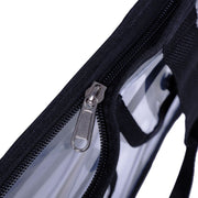Clear Bag - Cross-Body Messenger Shoulder Bag With Adjustable Strap-The Clear Tote Bag With Zipper Closure Is Perfect For Work