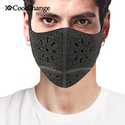 CoolChange Cycling Face Mask Cover Bike Anti-dust Breathable Mask PM 2.5 Protection Mouth-Muffle Soft Bicycle Training Mask