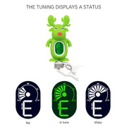 Cute Cartoon Reindeer Clip-On Tuner LCD Display For Guitar Chromatic Bass Ukulele Violin