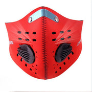 Cycling Fack Mask Mouth-Muffle Anti-dust Half Face Masks With Filter Cycling Bicycle Bike Training Anti Dust MTB Bike Macka