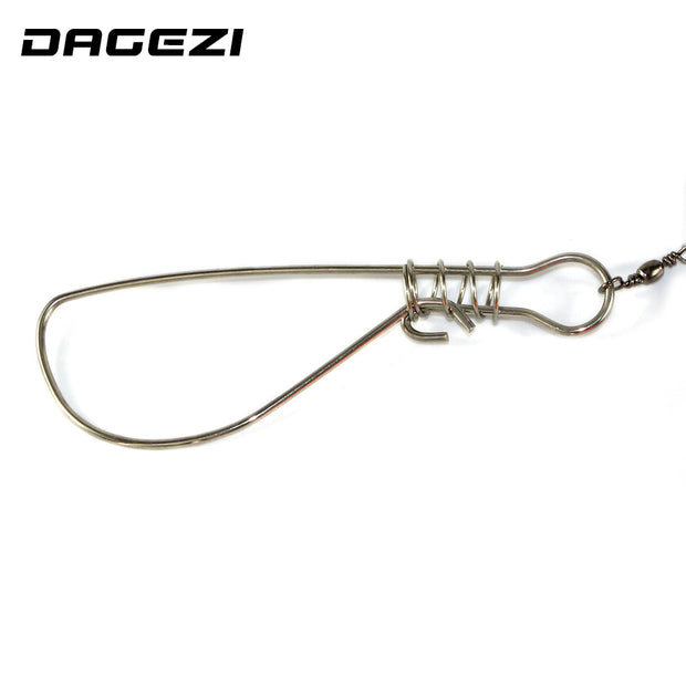 DAGEZI Fish Lock Buckle Stainless Steel Belt Fishing Tackle Fishing Lock Fishing Supplies Free Shipping 13