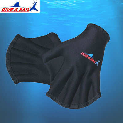DIVE&SAIL 2MM Training Diving Webbed Swimming Gloves For Women Men Neoprene Scuba Diving Paddle Glvoes Luvas Surfing Equipment