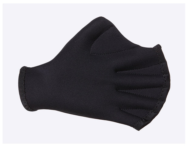 DIVE&SAIL 2MM Neoprene Adult Diving Gloves Swimming Paddle Hand Webbed Scuba Mittens Surfing Mitts For Women And Men Black Color