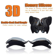 Diopter Swimming Googles Anti Fog Waterproof Swim Eyewear For Adult Diving Goggles With Earplugs