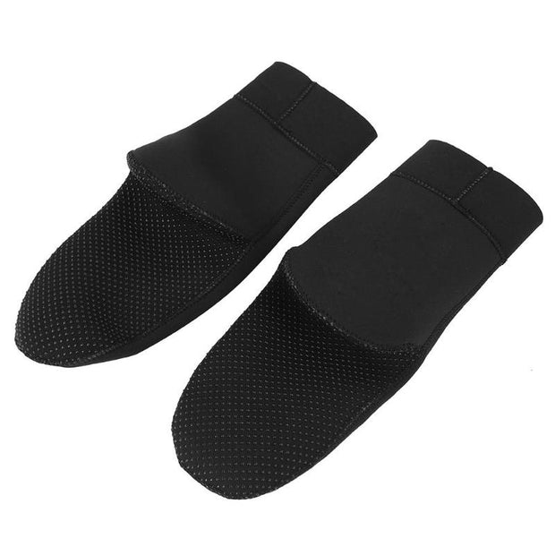 Diving Swimming Beach Boots Wetsuit Neoprene Diving Socks Prevent Scratches Warming Snorkeling Socks Black