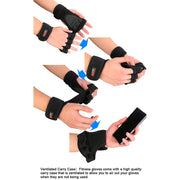 Dumbbell Gloves Grip Crossfit Sport Gym Fitness Barbell Training Wrist Hand Weight Lifting Women Men Gloves