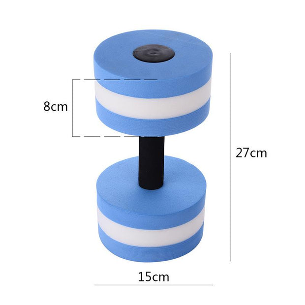 Dumbbell Water Yoga Exercise Dumbbell Body-building Fitness Floating Fitness