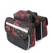 Durable Bicycle Frame Bag Cycling Front Head Top Tube Pockets Large Capacity Bike Double Pouch For Mobile Phone Small Things