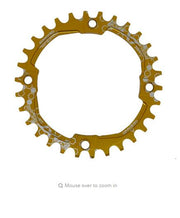 EKFan 104BCD XT Multicolor Narrow Wide Oval Round 30T 32T 34T 36T MTB Bike Chainwheel Cycling Chainring Circle Crankset Plate