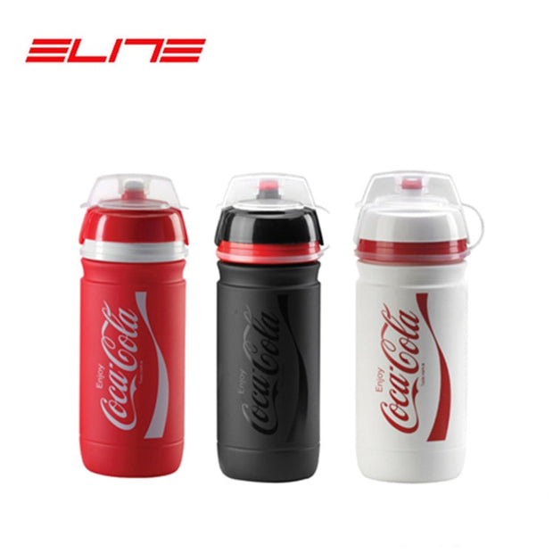 Elite Plastic Bike Water Bike Bottle Bicycle Black Sports Bottles 0.55L 0.75L Cycling Bottle Free Ship