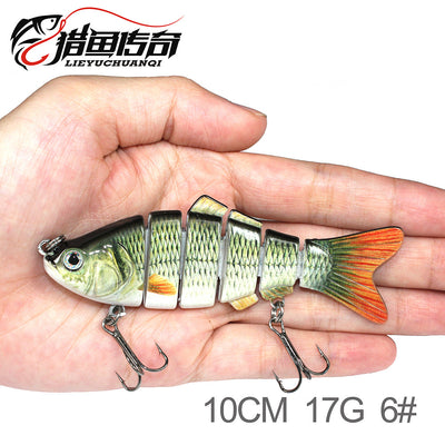 Explosion Models Lu Ya Er Fishing Hard Bait Simulation Lures Bait Hard Fly Fishing Tackle Multi-Bait Lures Fishing Gea