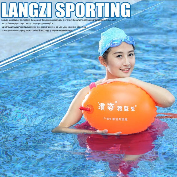 F803 Air Nozzle Double Air Bag Swimming Float Lifeball Copycat Swimming