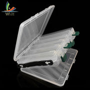 Fishing Box Accessories Tackle Lures Bait Storage Case Shrimp Boxes For Fishing Tackle Baits Pesca 10 Compartments Lure Box