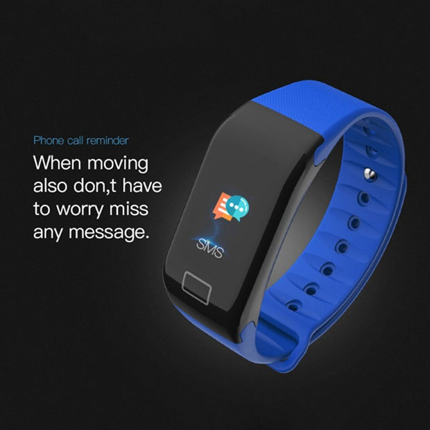 Fitness Wristband Heart Rate Monitor Smart Bracelet Smartwatch Blood Pressure With Pedometer Bracelet