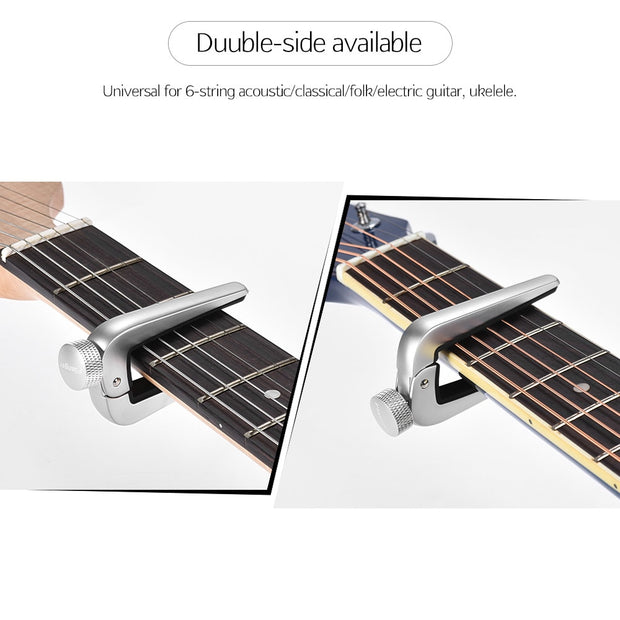 Flanger Premium Acoustic Guitar Capo Universal Capo For 6-string Classical Guitarra Folk Electric Guitar Ukelele