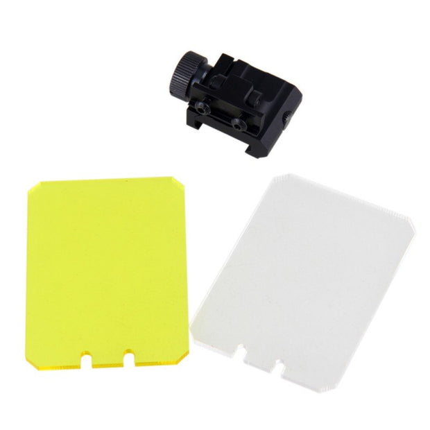 Foldable Airsoft Sight Scope Lens Screen Protector Cover Shield Rail Mount Outdoor Hunting Shooting Rifle Protector