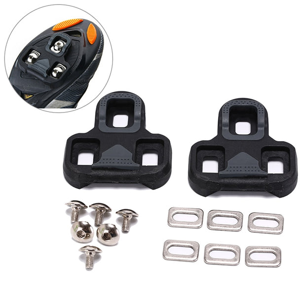 For LOOK KEO Pedal Nylon Cycling Cleats Accessories Icycle Self-Locking Pedal Cleat 4.5 Degree Road Bike Lock Plate