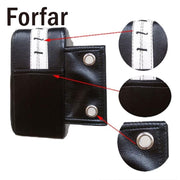 Forfar PU Leather Wall Boxing Target Pad Taekowndo Wing Chun Punching Training Bag