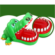 Funny Crocodile Pulling Teeth Board Game Crocodile Mouth Dentist Bite Finger Kids Puzzle Toy Bar Game For Reaction Training