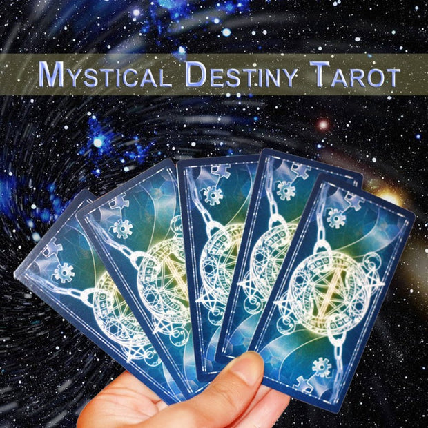 Funny Design Portable Tarot Cards Game Family Friends Entertainment Read Mythic Fate Divination Table Games Cards Free Shipping