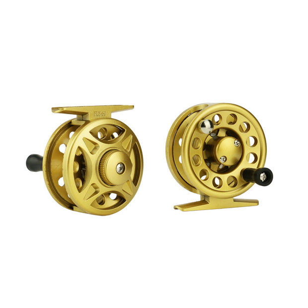 GLEEGLING High Quality Fly Reel 2+1BB Wheel Machine Aluminum Wheel 4/5/6 Fly Fishing Reel Hand-Changed Fihing Accessories