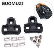 GUOMUZI Self-Locking Bicycle Pedal Cleat 4.5 Degree Road Bike Lock Plate For LOOK KEO Pedal Nylon Cycling Cleats Accessories