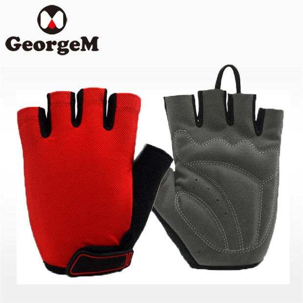 GeorgeM Guantes Ciclismo Half Finger Gloves Bike Gloves Outdoor Sports Climbing Cycling Gloves Luvas Biking Para Bicicleta
