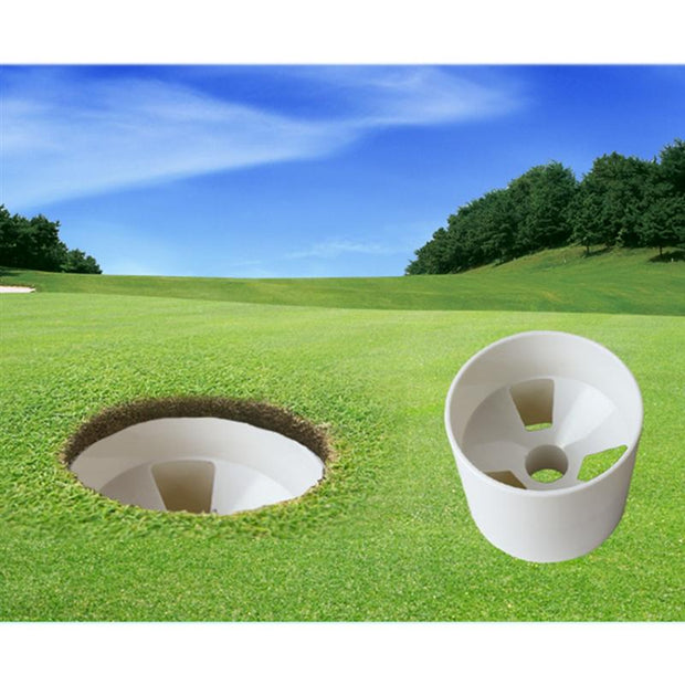 Golf Hole Cup Putting Putter Garden Training Backyard Home Chipping Putting Practice Putting Golf Cup Golf Training Aids