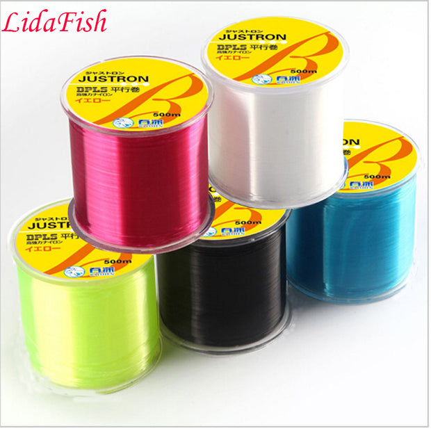 Good Quality 500M Super Strong Nylon Fishing Line Monofilament Fishing Wire Clear Carp Fish Line