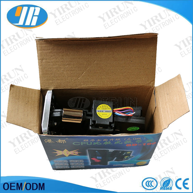 Good Quality Plastic Electronic Coin Acceptor CPU Comparison Multi