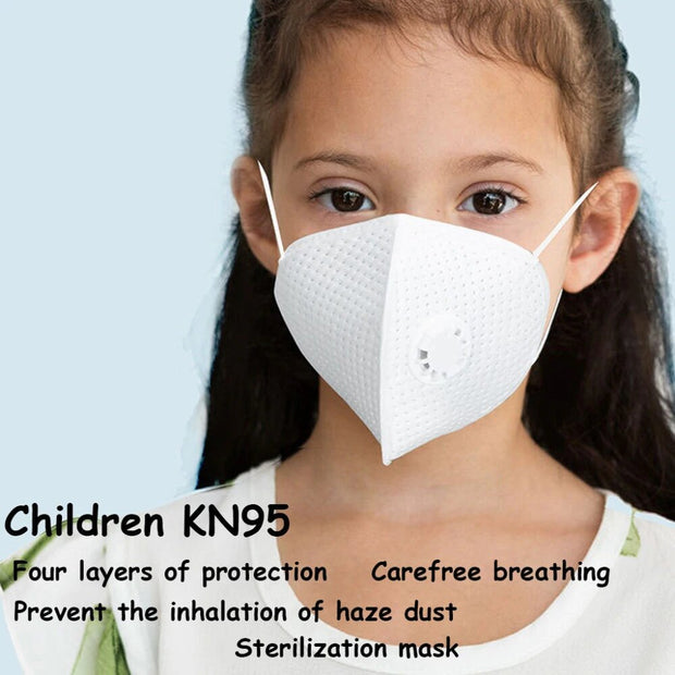 Face Masks KN95 Particulate Respirator Masks With Valve Kids PM2.5 Dust Mask 11.28