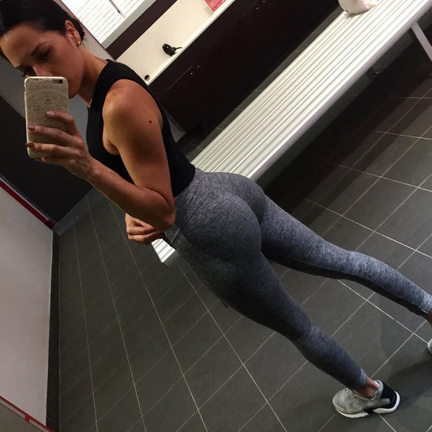 HOT SALE NEW Women Hight Waist Yoga Fitness Leggings Running Gym Stretch Sports Pants Trouser Legging Bodybuilding Clothes #2DQ
