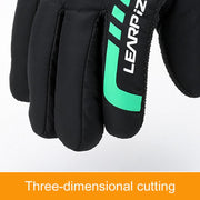 Heated Gloves For Men Women Winter Outdoor Motorcycle Riding Equipment Windproof Thickening Ski Gloves Motorcycle Cycling Glove