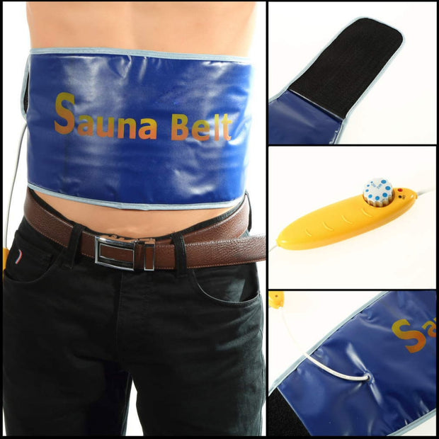 Heating Slimming Belt Health Care Body Tummy Waist Sweat Massager Massage Sauna Exercise Wrap Belts Fat Cellulite